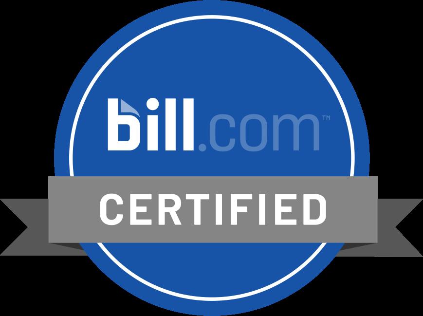 Bill.com Certified Certified
